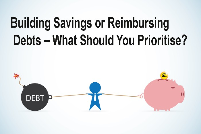 Building Savings or Reimbursing Debts